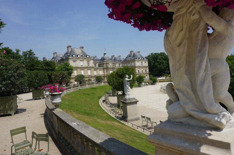 A walk through the Jardin de Luxembourg