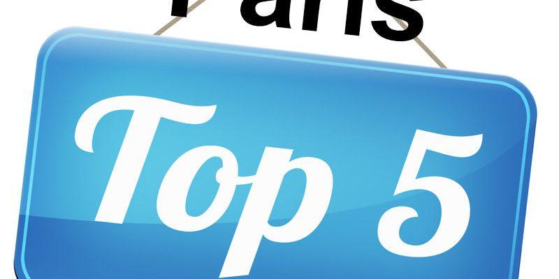 Top 5 places in Paris