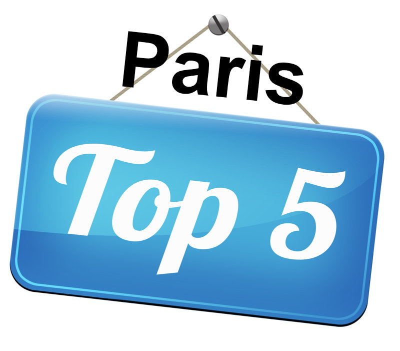 Top 5 places in Paris