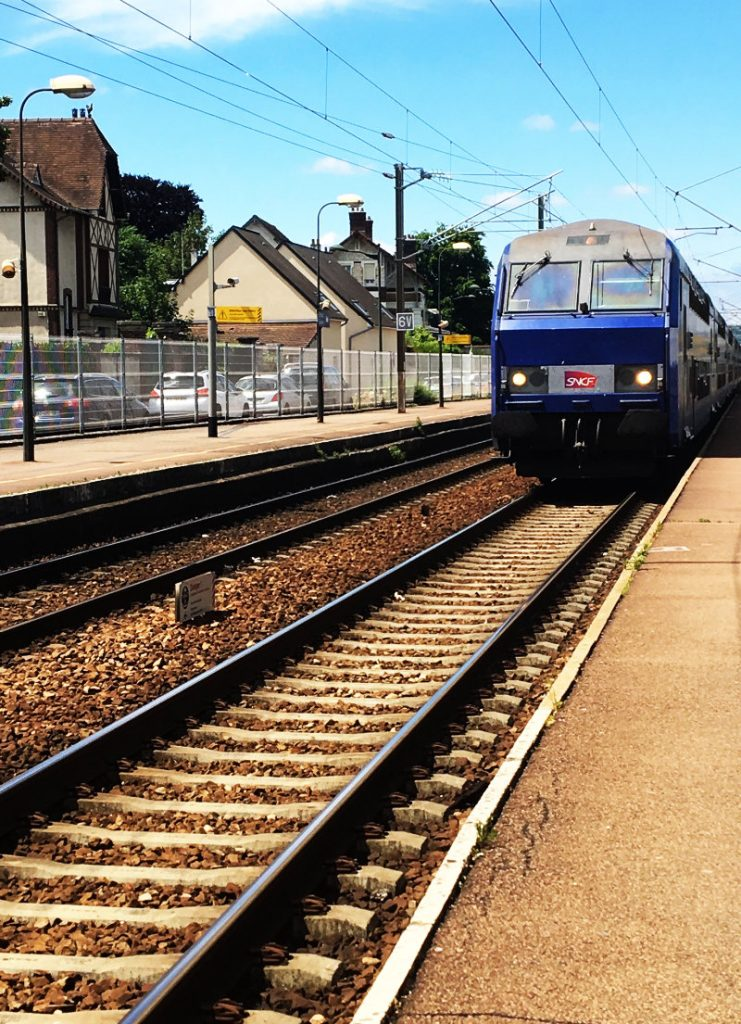train in France