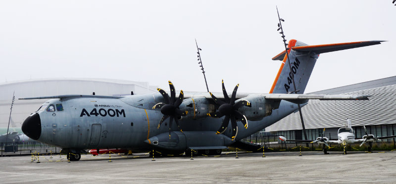The aeroscopia Toulouse – the Airbus Museum - A400