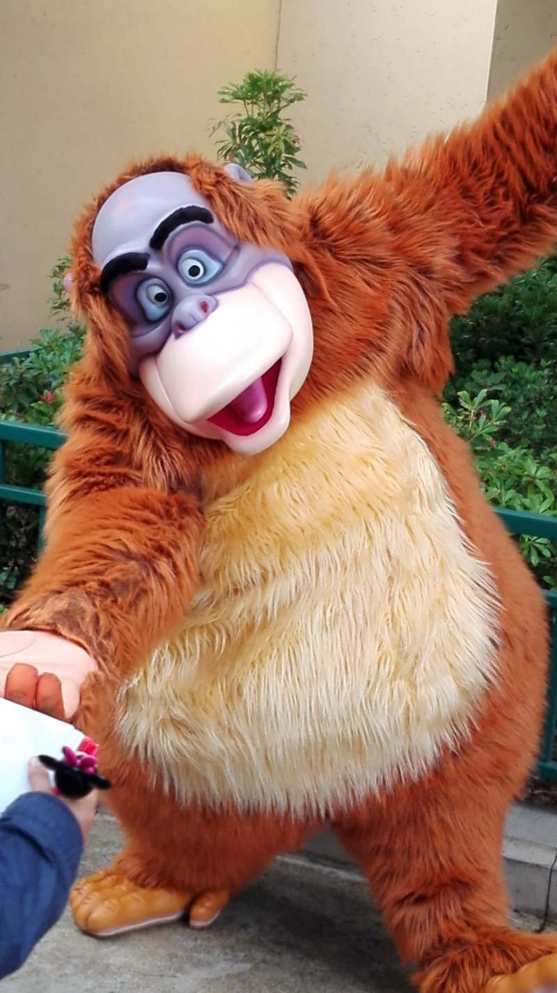 When and how to get up close to the Disney characters