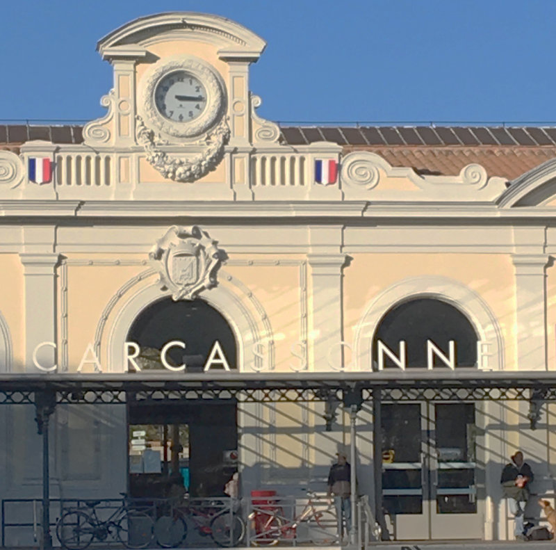 train station Carcassonne