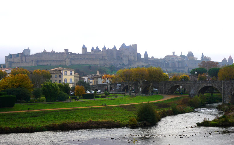 View of Carcassonne