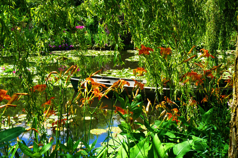 Claude Monet – A visit to the famous lily pond