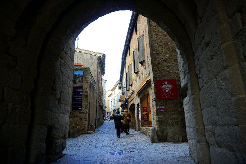 Visit the medieval fortress in Carcassonne