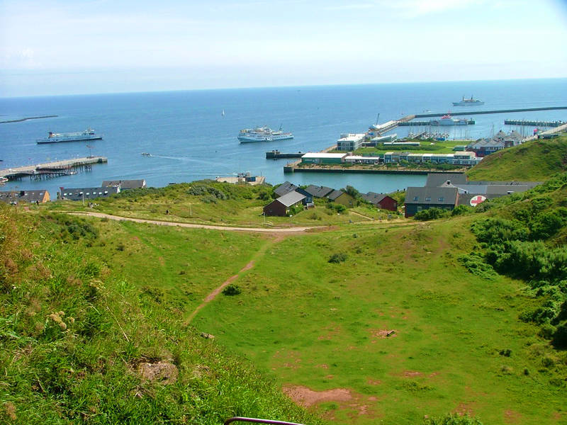 A day trip to the North Sea island of Heligoland
