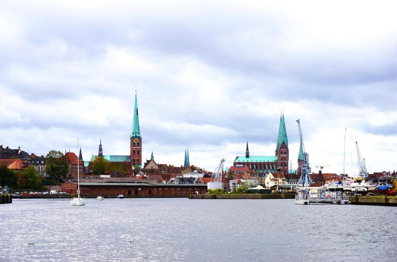 Lübeck view