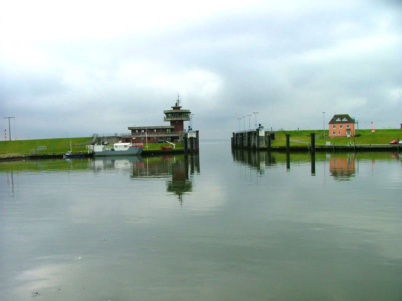 habour of Büsum