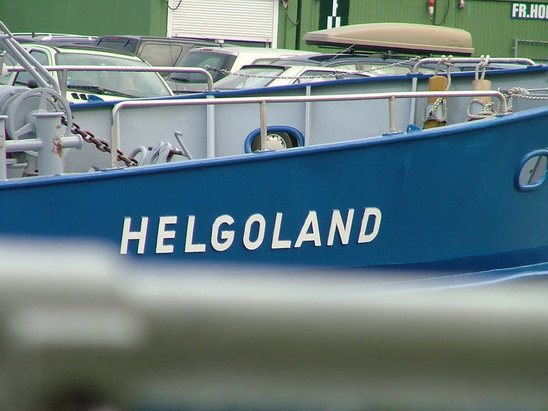 North Sea coast Heligoland