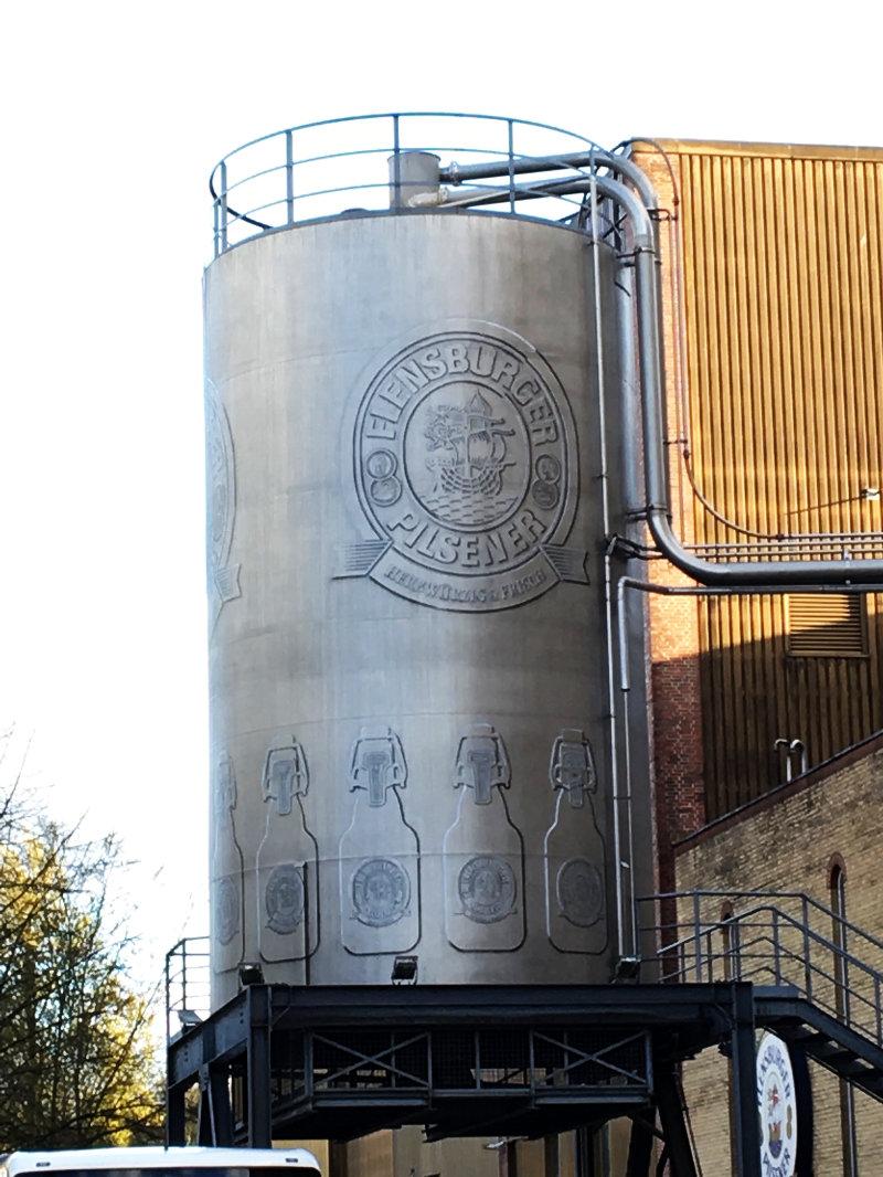 Flensburg brewery
