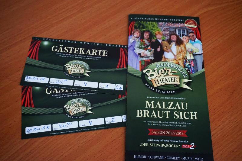 Beer Theatre Radeberg