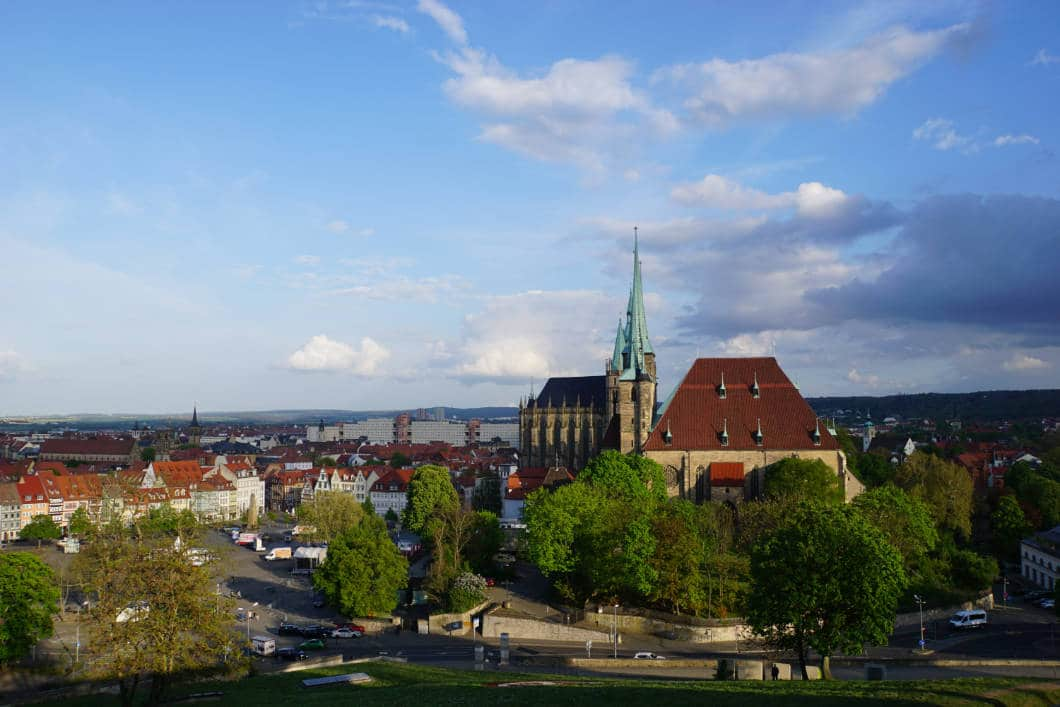 Erfurt in one weekend - discover the sights of the city