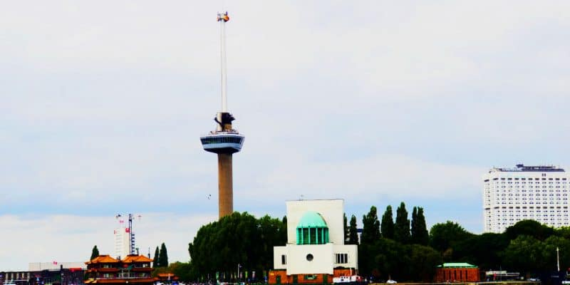 High above Rotterdam – visiting the Euromast Tower