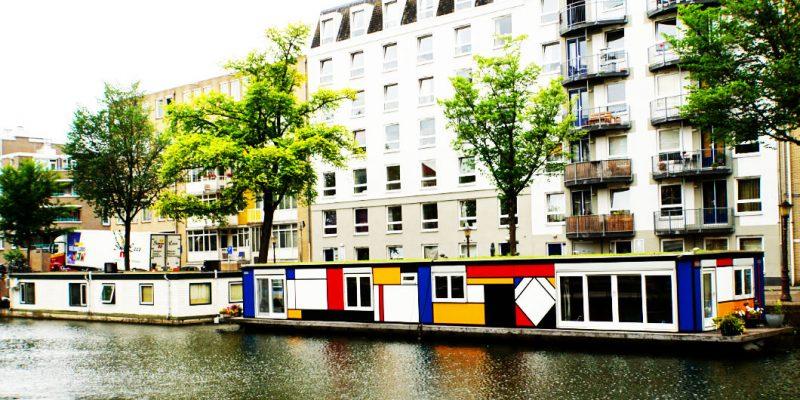 Walking through Amsterdam
