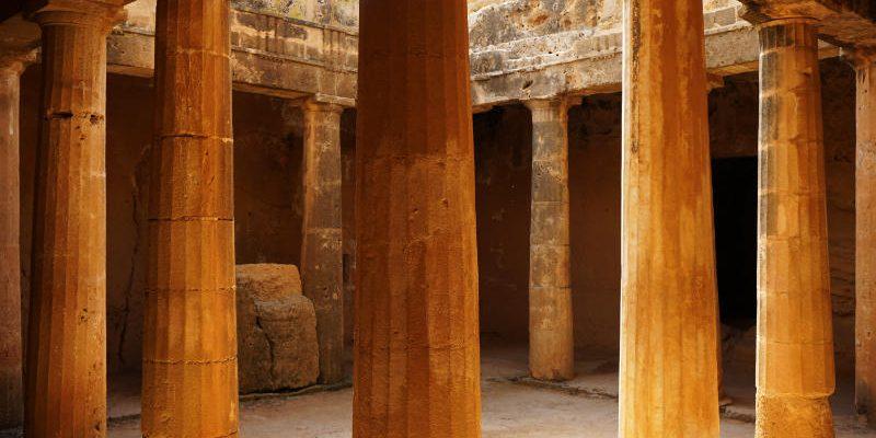 Königsgräber von Paphos.