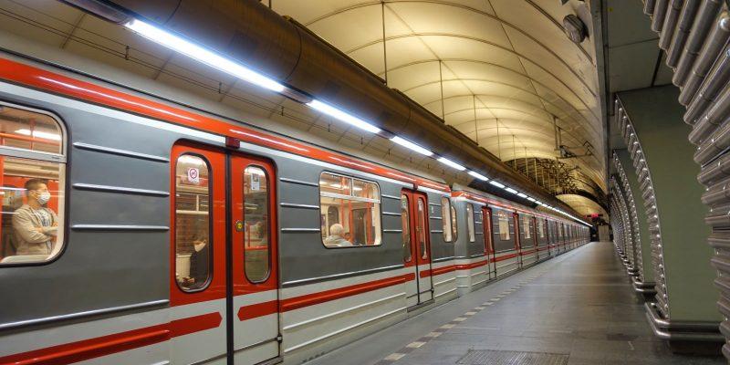 Öffentlicher Personen Nahverkehr in Prag
