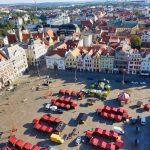 In the middle of Plzen - the republic square