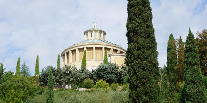 Free viewpoint: Santuario Madonna di Lourdes. After a nice walk, you reach one of the most beautiful viewpoints in Verona.