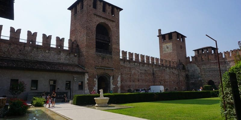 The Castelvecchio in Verona