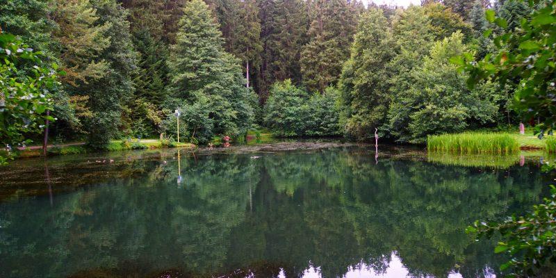 Lossburg im Schwarzwald