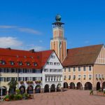 Freudenstadt in the Black Forest - around the market square