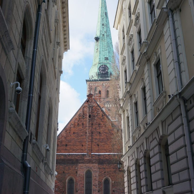 Let us stroll through Riga's Old Town together
