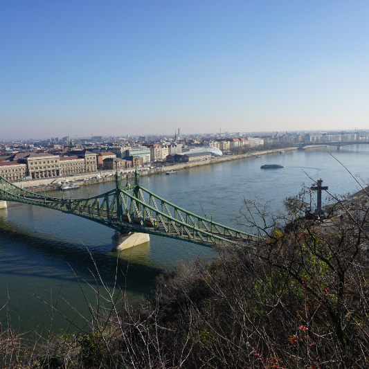 View across the Danube
