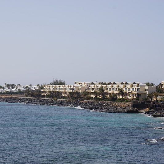 Playa Blanca – along the promenade