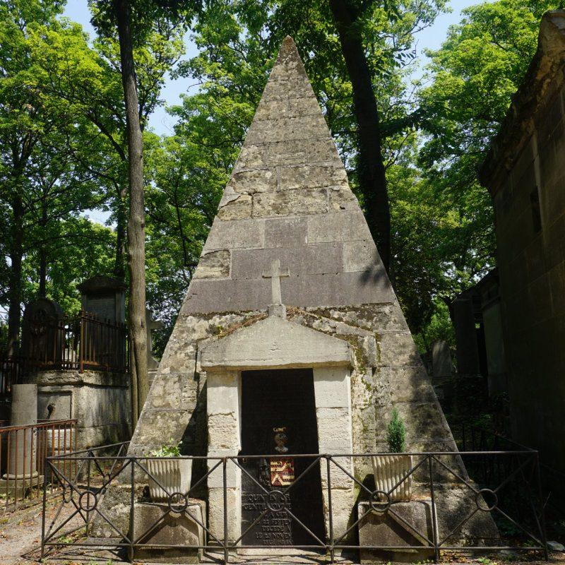 Père Lachaise Cemetary in Paris