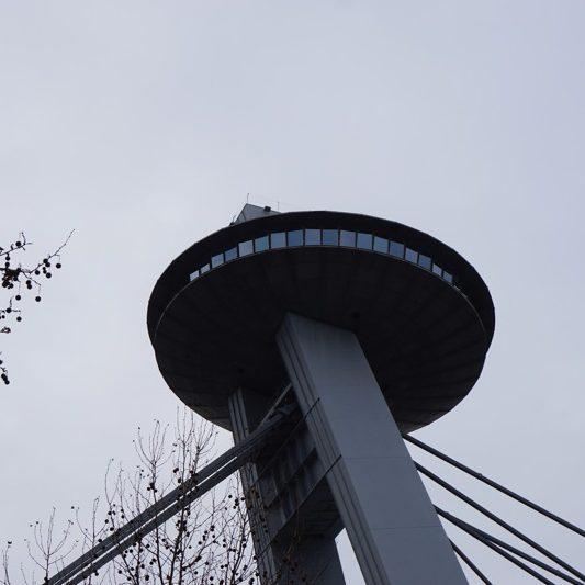 UFO SNP Brücke Bratislava