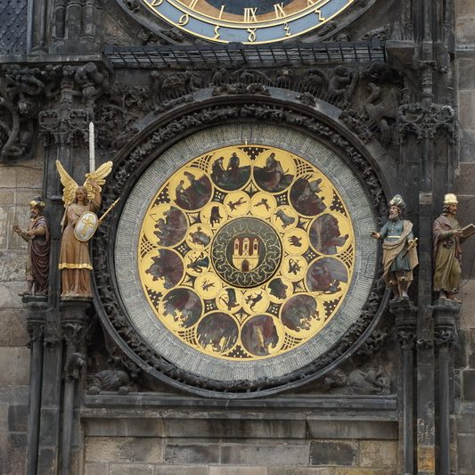 Astronomical clock on the Old Town Square